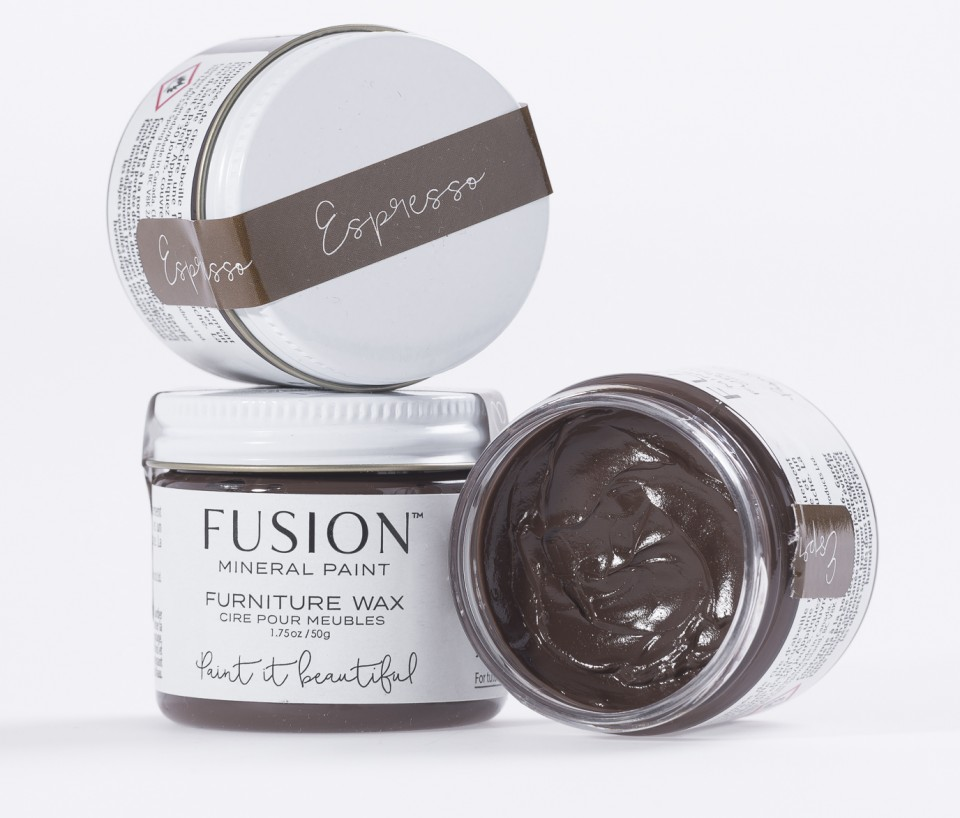 Fusion homestead house espresso wax from shabby to fabby for Homestead furniture wax